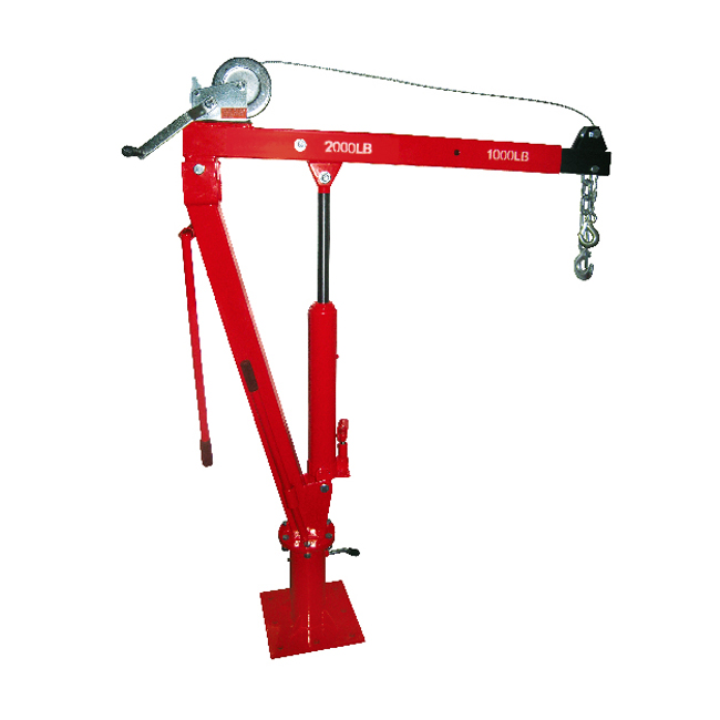HF98004 2000LB SWIVEL SHOP CRANE